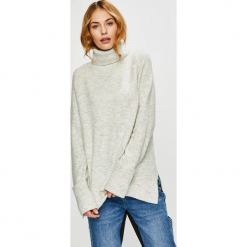 Vero Moda - Sweter. Niebieskie golfy damskie marki Vero Moda, z bawełny. Za 149,90 zł.