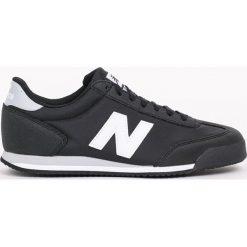 New Balance - Buty ML370BLW. Czarne halówki męskie New Balance, z gumy, na sznurówki. Za 299,90 zł.
