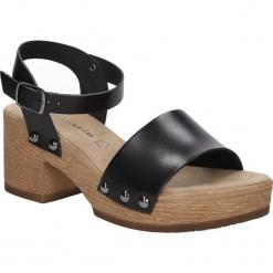 SANDAŁY TAMARIS 1-28036-26. Brązowe sandały damskie Tamaris. Za 149,99 zł.