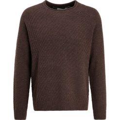 Swetry klasyczne męskie: Pier One Sweter brown melange