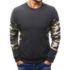 Swetry klasyczne męskie: Sweter męski antracytowy (wx1036)