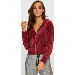 Only - Bluza. Szare bluzy z kapturem damskie marki ONLY, s, z bawełny, casualowe, z okrągłym kołnierzem. Za 129,90 zł.