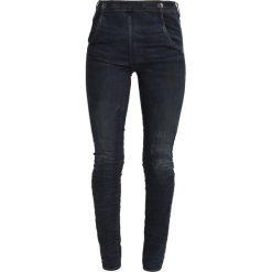 GStar 5622 NAVY HIGH SKINNY  Jeans Skinny Fit dark aged cobler. Szare jeansy damskie marki G-Star. W wyprzedaży za 362,45 zł.