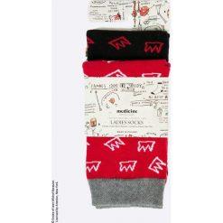 Skarpetki damskie: Medicine - Skarpety x Jean-Michel Basquiat (2-pack)