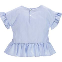 Brums - Top dziecięcy 98-116 cm. Niebieskie bluzki dziewczęce marki DOMYOS, z elastanu, street, z okrągłym kołnierzem. W wyprzedaży za 179,90 zł.