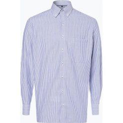 Eterna Comfort Fit - Koszula męska niewymagająca prasowania, niebieski. Niebieskie koszule męskie na spinki Eterna Comfort Fit, m. Za 249,95 zł.