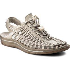 Rzymianki damskie: Sandały KEEN - Uneek 1018684 Agate Grey/Silver Birch