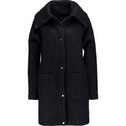 Płaszcze damskie pastelowe: Object Krótki płaszcz black