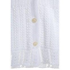 Polo Ralph Lauren SHRUG Kardigan white. Białe swetry chłopięce Polo Ralph Lauren, z bawełny. W wyprzedaży za 251,30 zł.