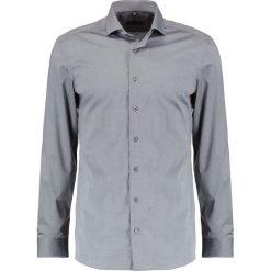 Koszule męskie na spinki: Eterna HAI AUSPUTZ SLIM FIT Koszula biznesowa grau