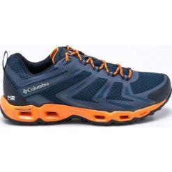 Columbia - Obuwie. Szare buty trekkingowe męskie Columbia, z materiału, na sznurówki, outdoorowe. W wyprzedaży za 359,90 zł.