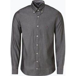 Tommy Hilfiger - Koszula męska, zielony. Czarne koszule męskie na spinki marki TOM TAILOR DENIM, l, z bawełny, button down, z długim rękawem. Za 349,95 zł.