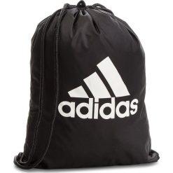 Plecak adidas - Per Logo GB BR5051  Black/Black/White. Czarne plecaki męskie Adidas, sportowe. Za 49,00 zł.