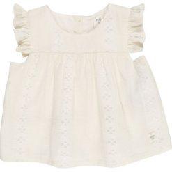 Carrement Beau BABY  Bluzka weiß. Białe bluzki dziewczęce Carrement Beau, z bawełny. Za 179,00 zł.