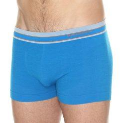 Majtki męskie: Brubeck Bokserki męskie Active Wool niebieskie r. S (BX10870)