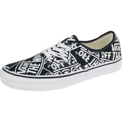 Vans Authentic OTW Repeat Buty sportowe czarny/biały. Białe buty sportowe damskie Vans, z nadrukiem, vans authentic. Za 304,90 zł.