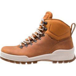 Ecco TRACK 25 Buty trekkingowe brown. Brązowe buty trekkingowe męskie ecco, z materiału, outdoorowe. Za 849,00 zł.