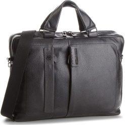 Torba na laptopa PIQUADRO - CA1903P15S/N Czarny. Czarne torby na laptopa marki Piquadro, ze skóry. W wyprzedaży za 1209,00 zł.