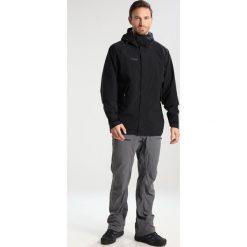 Bergans RAMBERG  Kurtka hardshell black/solidcharcoal. Czarne kurtki trekkingowe męskie Bergans, m, z hardshellu. W wyprzedaży za 471,75 zł.