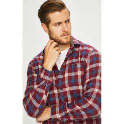 S. Oliver - Koszula. Brązowe koszule męskie na spinki S.Oliver, l, w kratkę, z bawełny, z klasycznym kołnierzykiem, z długim rękawem. Za 169,90 zł.