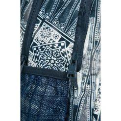 Roxy - Plecak. Szare plecaki damskie marki Roxy, w paski, z materiału. W wyprzedaży za 99,90 zł.