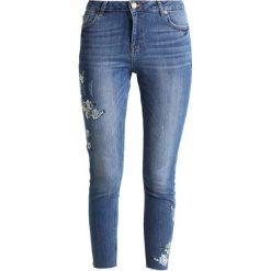 Dorothy Perkins FLORAL EMBROIDED DARCY Jeans Skinny Fit mid wash. Niebieskie jeansy damskie marki Dorothy Perkins. Za 199,00 zł.