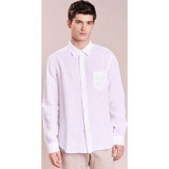 Koszule męskie na spinki: 120% Lino CAMICIA REGULAR Koszula white