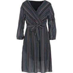 Ciemnozielona Sukienka Quarto. Zielone sukienki hiszpanki Born2be, uniwersalny, midi. Za 99,99 zł.
