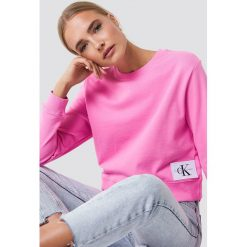 Odzież damska: Calvin Klein Bluza Harrisi True Icon Crew Neck - Pink