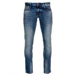 Mustang Jeansy Męskie Oregon 34/32 Niebieski. Czarne jeansy męskie z dziurami marki Mustang, l, z bawełny, z kapturem. W wyprzedaży za 309,00 zł.