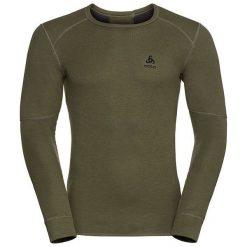 Odlo Koszulka męska Shirt l/s crew neck X-WARM brązowa r. XL (155162). T-shirty męskie Odlo, l. Za 165,76 zł.