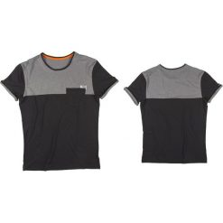 Koszulki sportowe męskie: JOBE Koszulka męska Discover Nero czarno-szara r. L