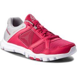 Buty Reebok - Yourflex Trainette 10 Mt CN5653 Rugged Rose/Tin Grey/Wht. Czerwone buty do fitnessu damskie Reebok, z materiału, reebok yourflex. W wyprzedaży za 159,00 zł.