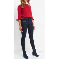 Power Stretch Skinny Jeans. Brązowe jeansy damskie skinny marki Orsay, s, z dzianiny. Za 129,99 zł.