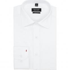Koszula versone 1100 długi rękaw slim fit biały. Białe koszule męskie slim marki Reserved, l. Za 139,00 zł.