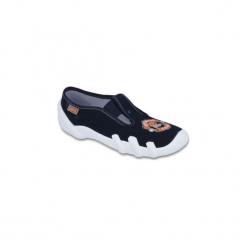 Granatowe Tekstylne Buty Dla dzieci Befado rozmiar 36. Czarne buciki niemowlęce chłopięce Befado, z bawełny. Za 61,80 zł.