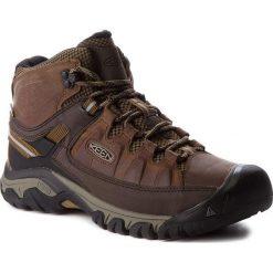 Buty trekkingowe męskie: Keen Buty męskie Targhee III Mid Wp Big Ben/ Golden Brown r. 44.5 (1018570)