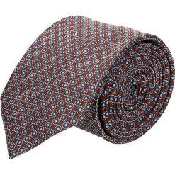 Krawaty męskie: krawat platinum bordo classic 221