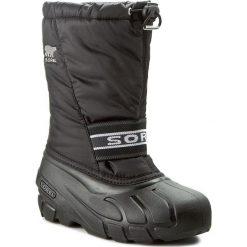 Buty zimowe chłopięce: Śniegowce SOREL – Youth Cub NY 1881-011 Black