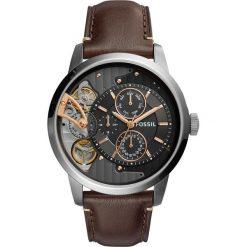 Zegarek FOSSIL - Townsman ME1163 Dark Brown/Silver/Steel. Różowe zegarki męskie marki Fossil, szklane. Za 1095,00 zł.
