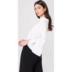 Glamorous Koszula z wiązaniem na rękawie - White. Białe koszule wiązane damskie marki Glamorous, z krótkim rękawem. Za 161,95 zł.
