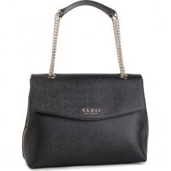Torebka GUESS - HWEV71 80200 BLA. Czarne torebki klasyczne damskie Guess, z aplikacjami, ze skóry ekologicznej. Za 559,00 zł.