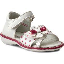 Sandały dziewczęce: Sandały NELLI BLU – C1912009L07 Biały