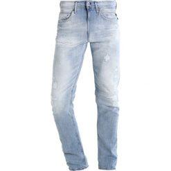 Jeansy męskie: Replay JONDRILL Jeans Skinny Fit destroyed denim