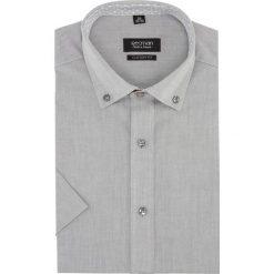 Koszula bexley 2512 krótki rękaw custom fit szary. Szare koszule męskie na spinki Recman, m, z krótkim rękawem. Za 89,99 zł.