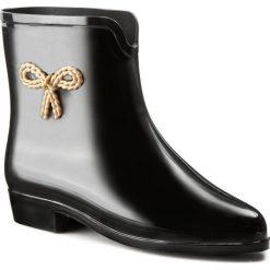 Kalosze MEL BY MELISSA - Mel Ankle Boot Sp Ad 30714 Black 01003. Czarne buty zimowe damskie Mel by Melissa, z tworzywa sztucznego. W wyprzedaży za 119,00 zł.