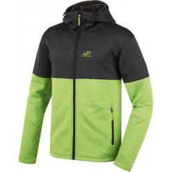 Hannah Bluza Darko Anthracite/Lime Green L. Zielone bluzy męskie rozpinane marki Hannah, l. W wyprzedaży za 225,00 zł.