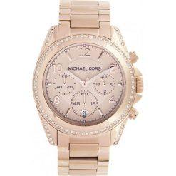 ZEGAREK MICHAEL KORS LADIES ROSE GOLD TONE MK5263. Czerwone zegarki damskie marki Michael Kors, ze stali. Za 1369,00 zł.