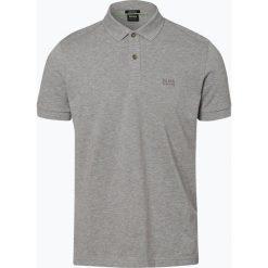 Koszulki polo: BOSS Athleisure – Męska koszulka polo – Piro, szary