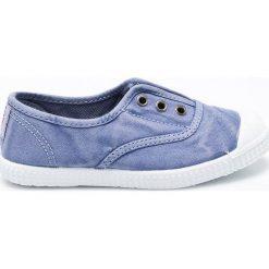 Big Star - Tenisówki dziecięce. Niebieskie buty sportowe dziewczęce BIG STAR, z materiału. W wyprzedaży za 69,90 zł.
